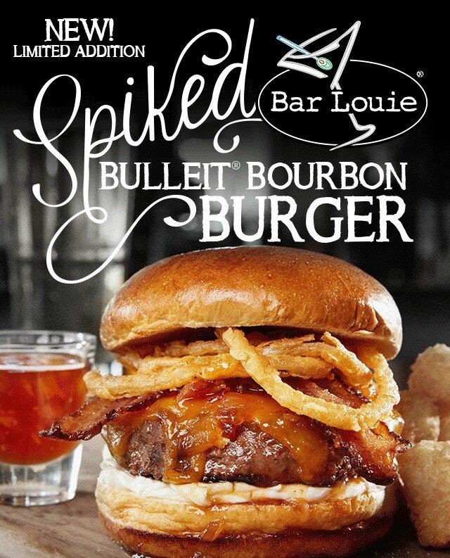 Bar Louie-bourbon burger